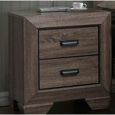 Carnegie 2 Drawer Nightstand by Gracie Oaks
