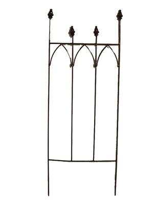 Provence Garden Decor Planter Gothic Trellis (Set of 6)