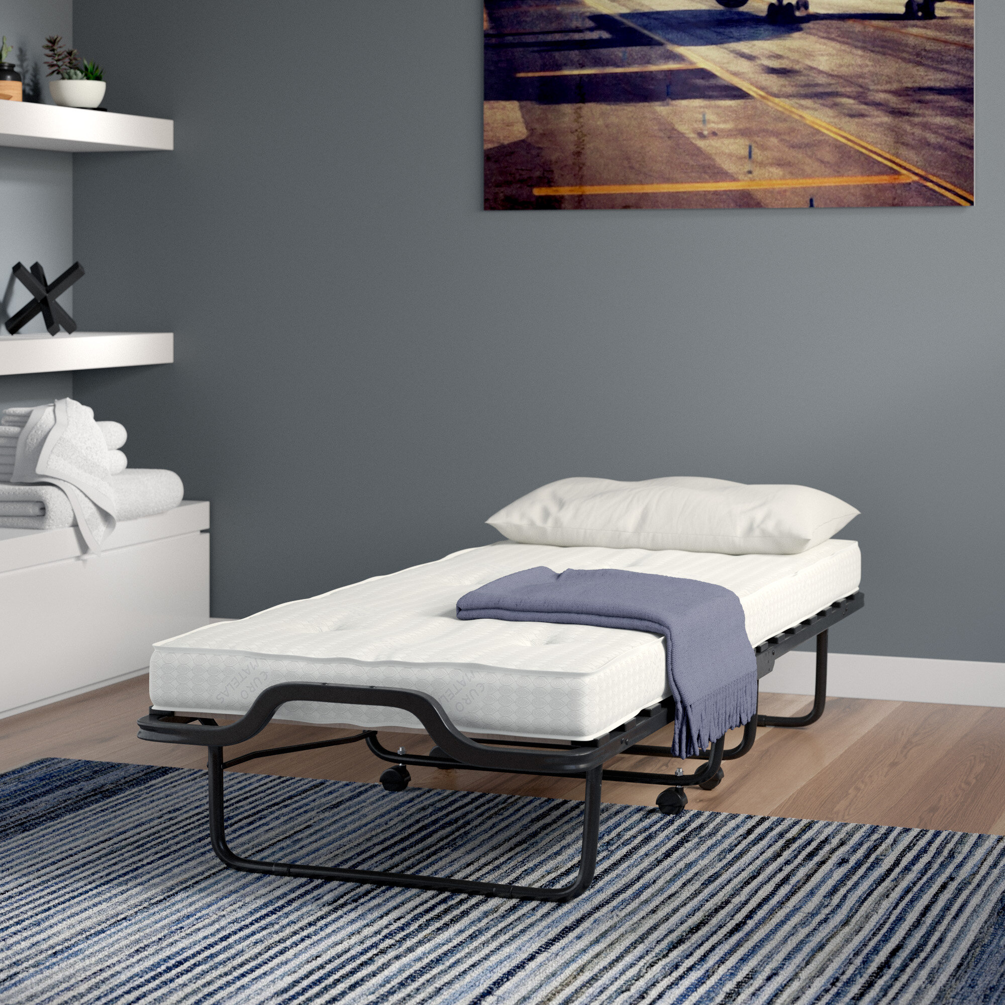 Picture of: Folding Beds You Ll Love In 2020 Wayfair