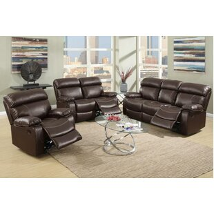 Mildred 3 Piece Reclining Living Room Set by A&J Homes Studio