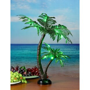 Lightshare LED 25 Light Twins Palm Tree