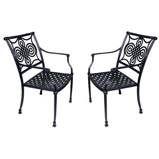 Bermuda Stacking Patio Dining Chair (Set of 2)