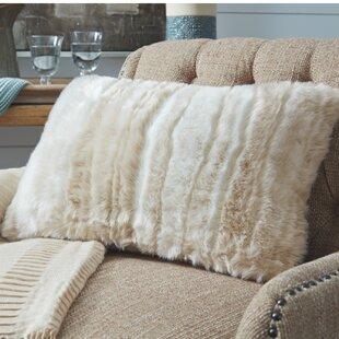 Wilson Faux Fur Throw Pillow