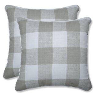 Check Plaid Throw Pillows You Ll Love In 2021 Wayfair