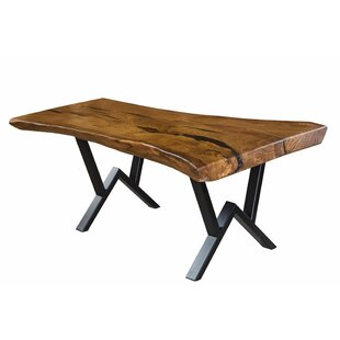 Elaina Solid Wood Dining Table by Foundry..