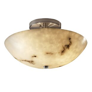 Keyon 2-Light Semi Flush Mount by Brayden Studio