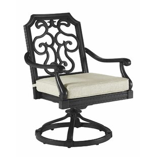 Canora Grey Hargrave Outdoor Rocking Chair with Cushion (Set of 2)