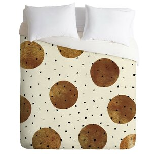 East Urban Home Mixed Dots Duvet Cover Set