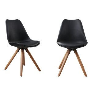 Plastic Dinning Side Chair (Set of 2) Attraction Design Home