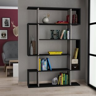 Callum Modern Geometric Bookcase
