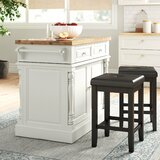 Butcher Block White Kitchen Islands Carts You Ll Love In 2020 Wayfair
