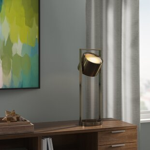 Netzer Suspended Drum Shade 27 Table Lamp