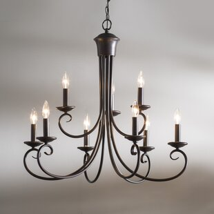 Charlton Home Kenedy 9-Light Chandelier