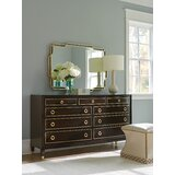 Carlyle 9 Drawer Dresser with Mirror by Lexington