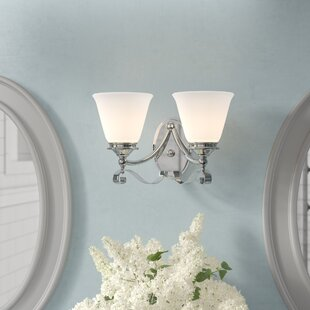 Comparison Osbourn 2-Light Vanity Light By Charlton Home