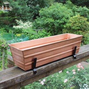 Metal Window Box Planters You Ll Love In 2021 Wayfair