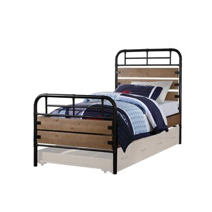 May Twin Panel Bed with Trundle