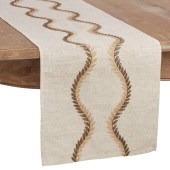 One Allium Way Hippolyte Reversible Table Runner Wayfair