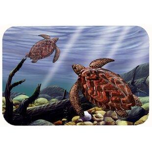 Sea Turtles Kitchen Bath Mat