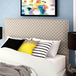 Third Avenue Hexagon Upholstered Panel Headboard