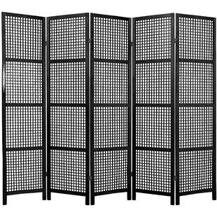 Bay Isle Home Stoehr Shoji 5 Panel Room Divider