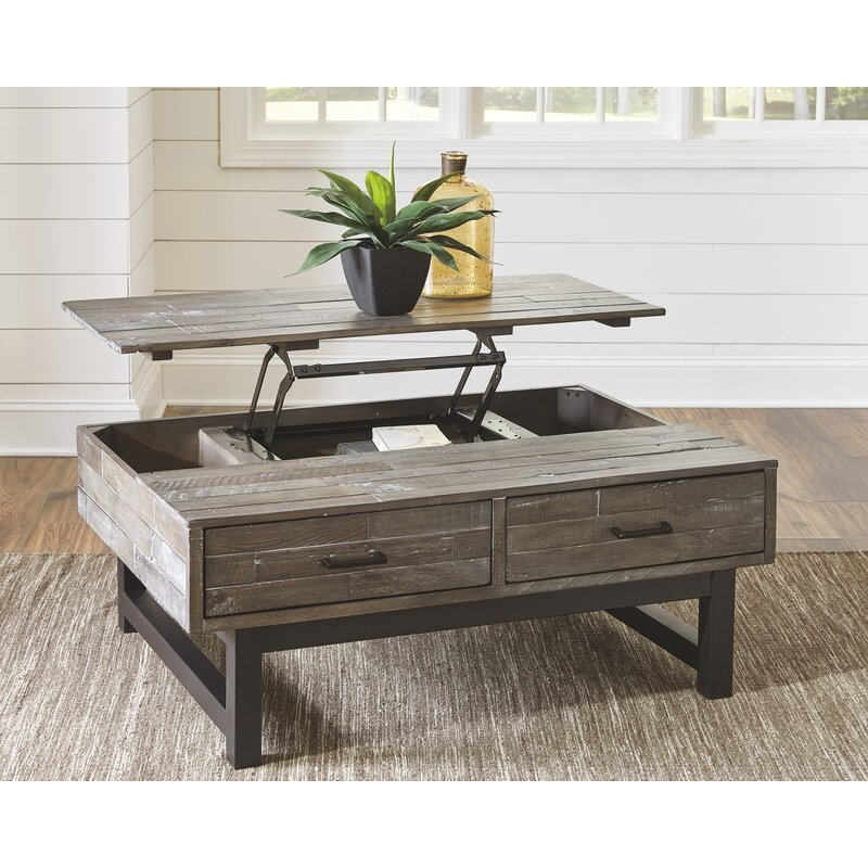 Gracie Oaks Malachy Lift Top Coffee Table With Storage & Reviews Wayfair