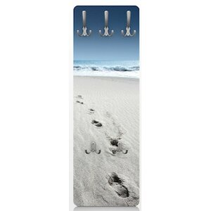 Wandgarderobe Spuren im Sand