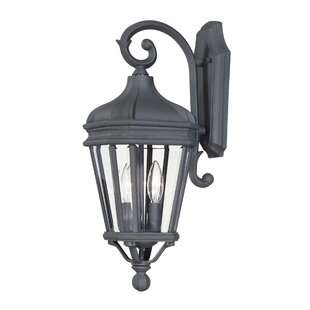 Harrison 2-Light Outdoor Wall Lantern by Great Outdoors by Minka
