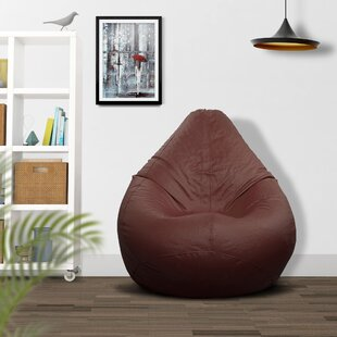 Ample Décor Fabric Bean Bag Cover by Ample Decor LLC