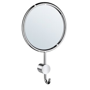 Reviews Withrow Makeup/Shaving Mirror and Hook By Orren Ellis