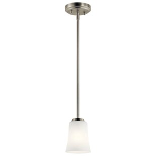 Hong 1-Light Cylinder Pendant by Latitude Run