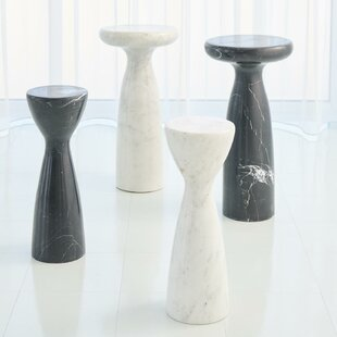 Marble End Table by Global Views