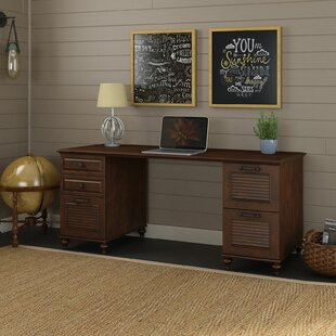 Kathy Ireland Office by Bush Volcano Dusk 3 Piece Desk Office Suite