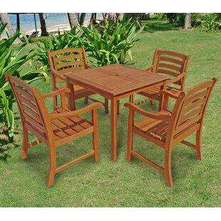 Izaguirre 4 Seater Dining Set Image