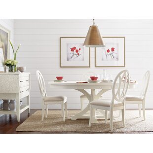 Pedestal 5 Piece Extendable Dining Set