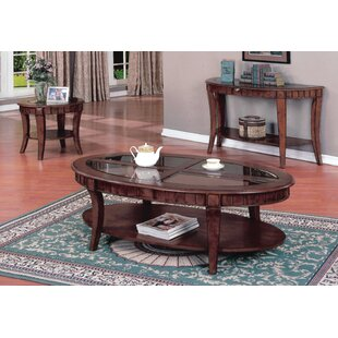 Rodriques 3 Piece Coffee Table Set