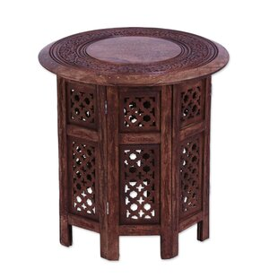 Ramas Leisure Time Wood End Table by Bloomsbury Market