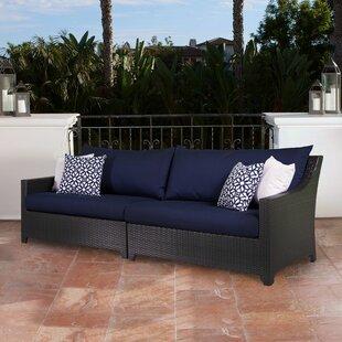 Three Posts Northridge Patio Sofa with Cushions