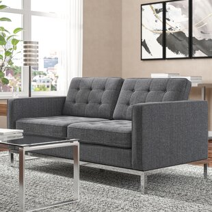 Gayatri Loveseat by Orren Ellis Herry Up