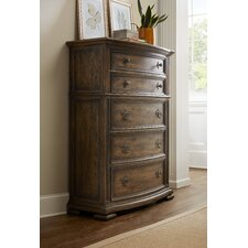 Hill Country Gillespie 5 Drawer Chest by Hooker Furniture