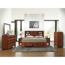 Asger Queen Platform Customizable Bedroom Set by Roundhill Furniture