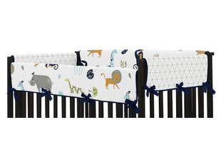 Great deal Mod Jungle Crib Rail Guard Cover (Set of 2) BySweet Jojo Designs