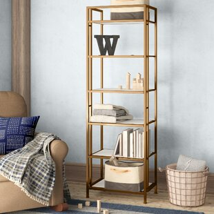 Geomar Etagere Bookcase by Birch Lane™ Heritage 2019 Sale