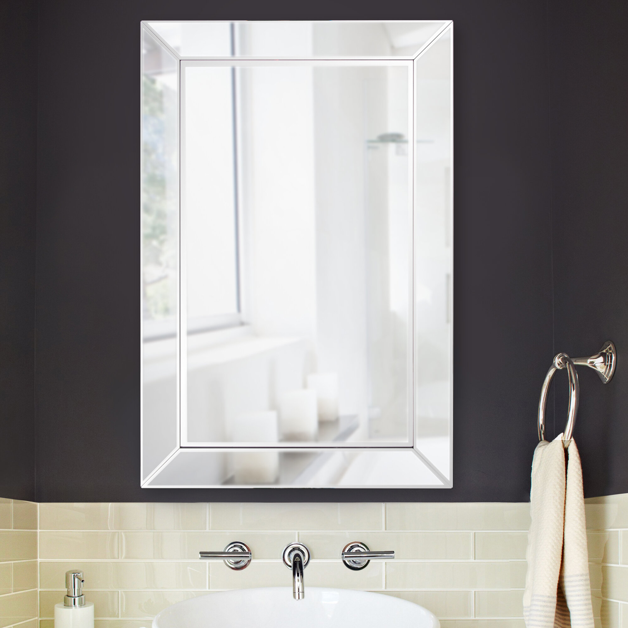 Husby Bathroom Vanity Mirror Reviews
