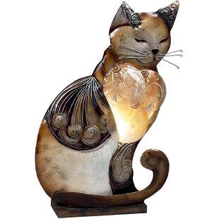 Red Barrel Studio Leffler Sitting Cat 14