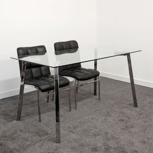 Branham Dining Set With 2 Chairs By Metro Lane