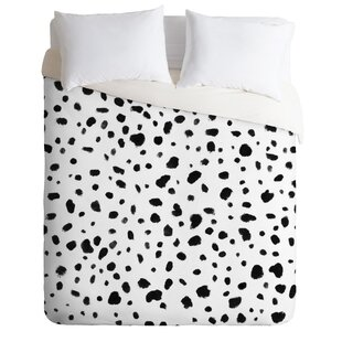 East Urban Home Rebecca Allen Miss Monroes Dalmatian Duvet Set