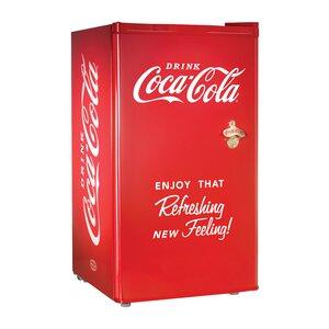 Coca-Cola Series 3.2 cu. ft. Compact Refrigerator with Freezer