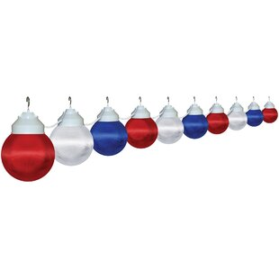 Best Reviews 10-Light Globe String Lights (Set of 10) By Polymer Products