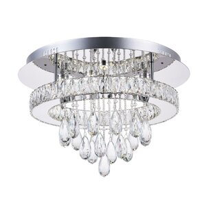 CWI Lighting Veil 22-Light LED Flush Mount